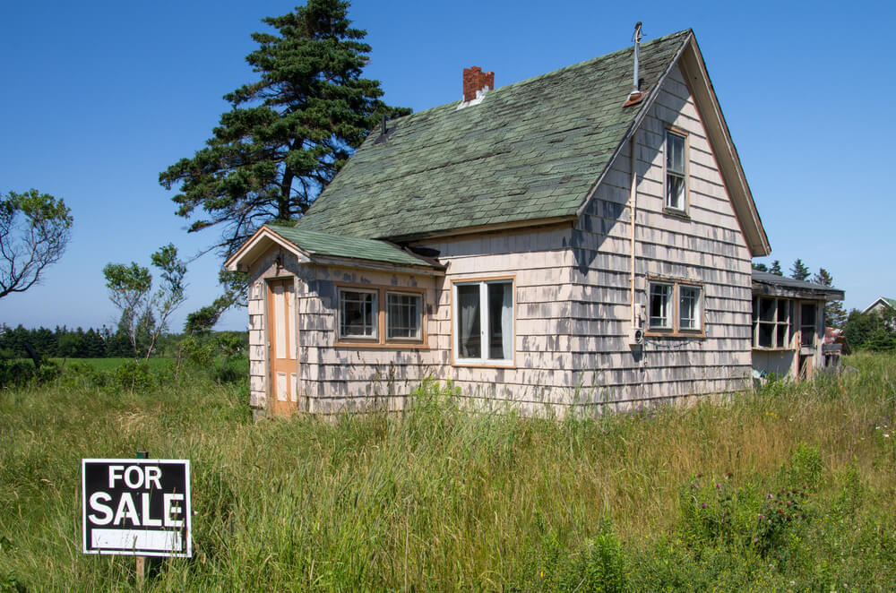 abandoned homes for sale
